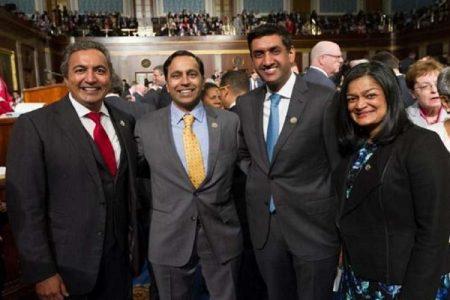 अमेरिका की बड़ी खबर: समोसा कॉकस के लिए चारो भारतीय अमेरिकी सांसद दोबारा चुने गए।