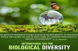 """""""International Day for Biological Diversity 2021""""जैव विविधता से जुड़ी महत्वपूर्ण जानकारी।"""